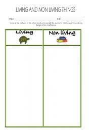 math worksheet : living and non living things  worksheet by lalitareed : Living And Nonliving Things Worksheets For Kindergarten
