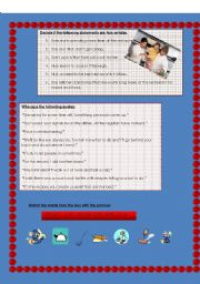 English Worksheets: film: No reservations