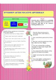 Inversion after negative adverbials part 1
