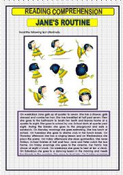 English Worksheet: READING COMPREHENSION -