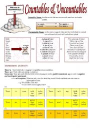 English Worksheets: Grammarville series 1 (2pages)