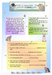 English Worksheets: If x In case