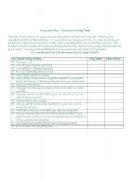 English Worksheets: Green Plan - Activity Worksheet for Kids