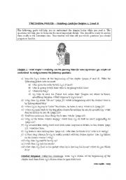 English Worksheets: The Dream Master by Theresa Breslin