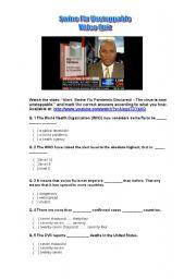 Swine Flu - Video Quiz