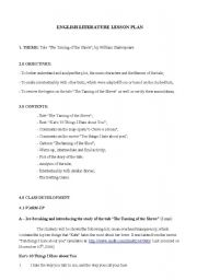 English Worksheets: The Taming of the Shrew