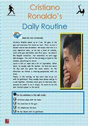 Cristiano Ronaldo´s Daily Routine