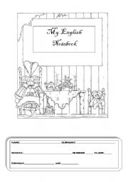English Worksheets: My English Notebook