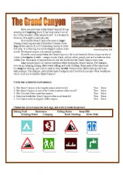 Worksheet Grand Canyon Worksheets intermediate esl worksheets the grand canyon english worksheet canyon