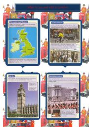 What to see and visit in London (1/3) 1 Page (6 pages + exercises)