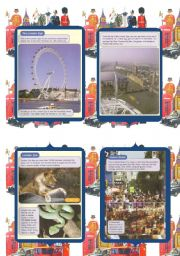 What to see and visit in London (2/3) 2 Pages (6 pages + exercises)