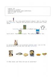 English Worksheets: write it in the past