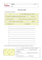 English Worksheets: Extra activity 2