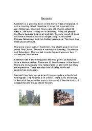 English Worksheet: Neighbours-Life in the United Kingdom