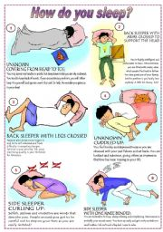 How do you sleep?  (fully editable)
