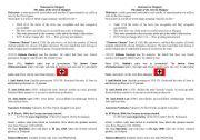 English Worksheet: Hand out for Hungarina Jewish Holocaust presentation