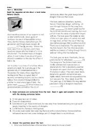 English Worksheets: revision handout