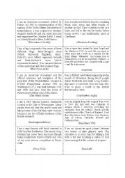 English Worksheets: General culture quizz