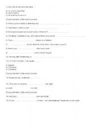 English Worksheets: Text