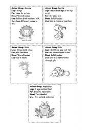English Worksheets: Animal Groups