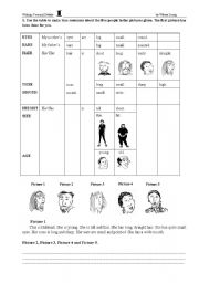 English Worksheets: Personal details