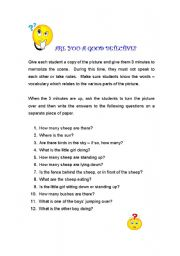 English Worksheets: Are you a good detective