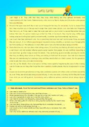 English Worksheets: LIAR! LIAR!