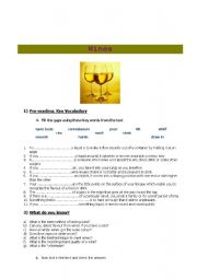 English Worksheets: ALL ABOUT WINES