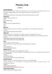 English teaching worksheets: Phonics