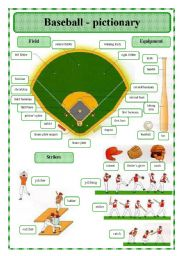 Baseball - pictionary