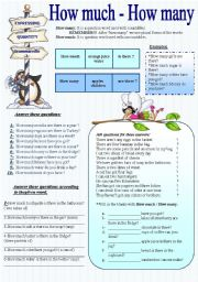 English Worksheets: Grammarville 2