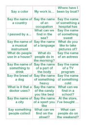 English Worksheets: Say it right away!