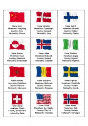 English Worksheet: Where are you from? (2nd Worksheet)