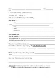 English Worksheets: Working with