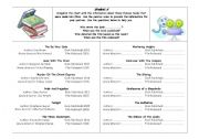 English Worksheets: Books made into movies - Passive Voice