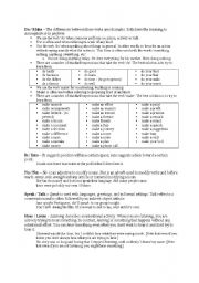 English Worksheets: Easily Confused