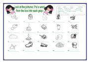 English worksheet: Food_exercise.