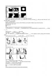 English Worksheets: talk about the picture 2