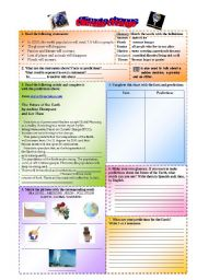 english worksheets climate change. Black Bedroom Furniture Sets. Home Design Ideas