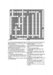 English worksheets: Crossword- Seafloor Features- Physical ...