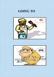 English worksheet: Going to