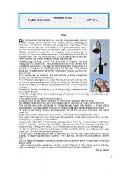 Test on CCTV cameras (Big Brother)