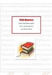 TESOL ideas: Reading games, worksheets, ideas and useful websites.