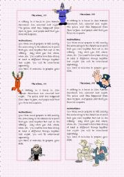 English Worksheets: The Crime Detectives