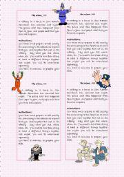 English Worksheet: The Crime Detectives