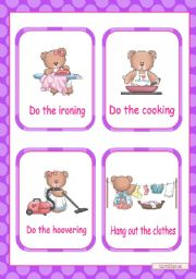 HOUSEWORK  -  14 flashcards  (1)