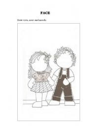 English Worksheets: boy and girl