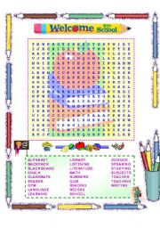Back to school word search Index of /