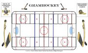Grammar Hockey Board game 1/2