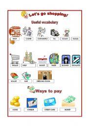 Shopping - Vocabulary